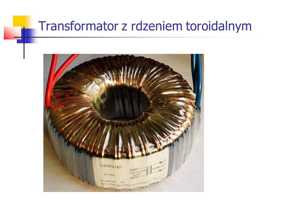 Transformator z rdzeniem toroidalnym