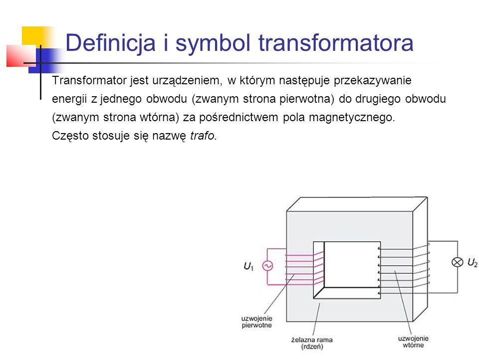 Definicja i symbol transformatora