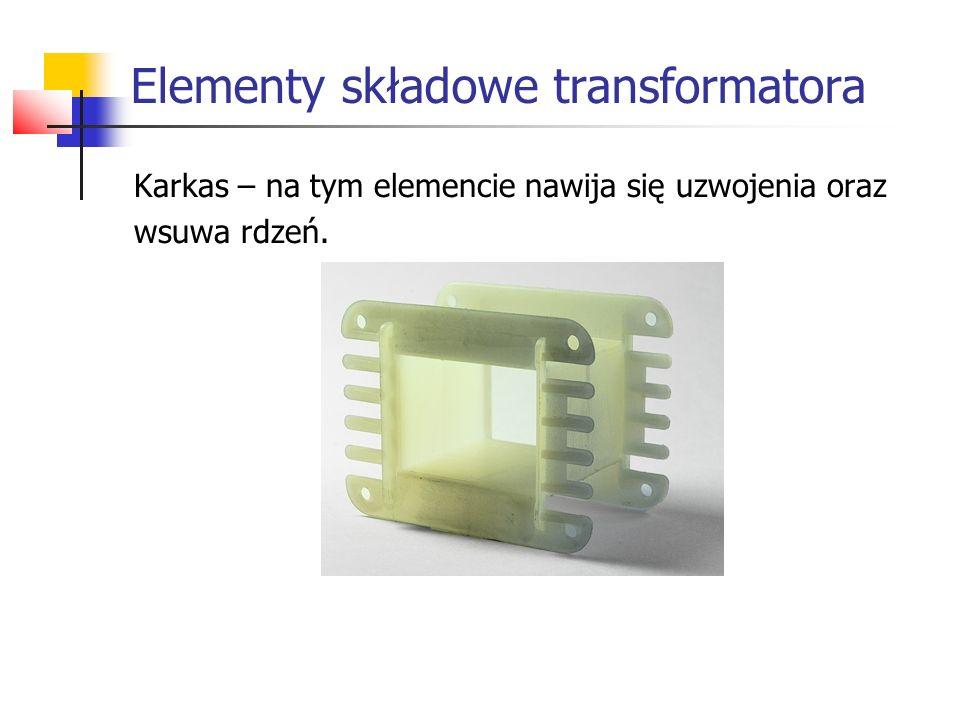 Elementy składowe transformatora