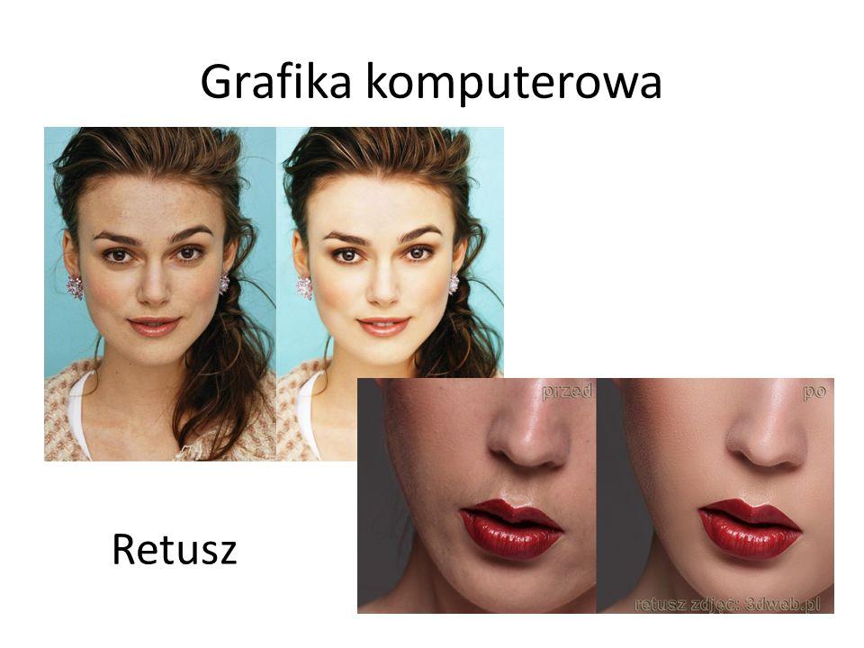 Grafika komputerowa Retusz