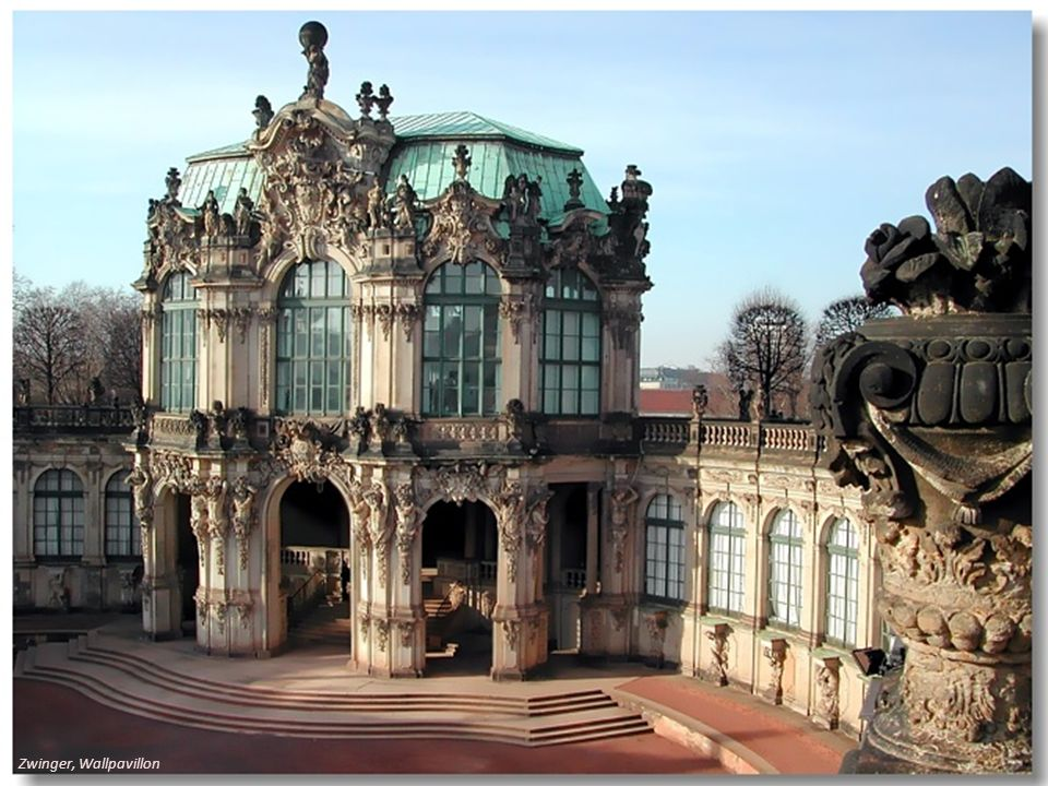 Zwinger, Wallpavillon