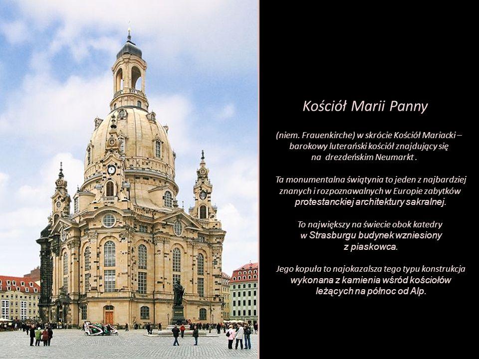 Kościół Marii Panny (niem. Frauenkirche) w skrócie Kościół Mariacki –