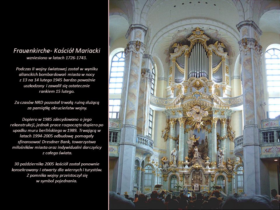 Frauenkirche- Kościół Mariacki