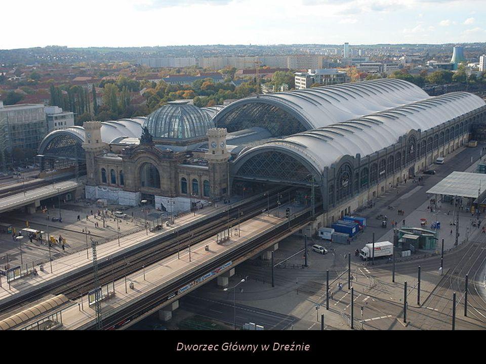 Dworzec Główny w Dreźnie