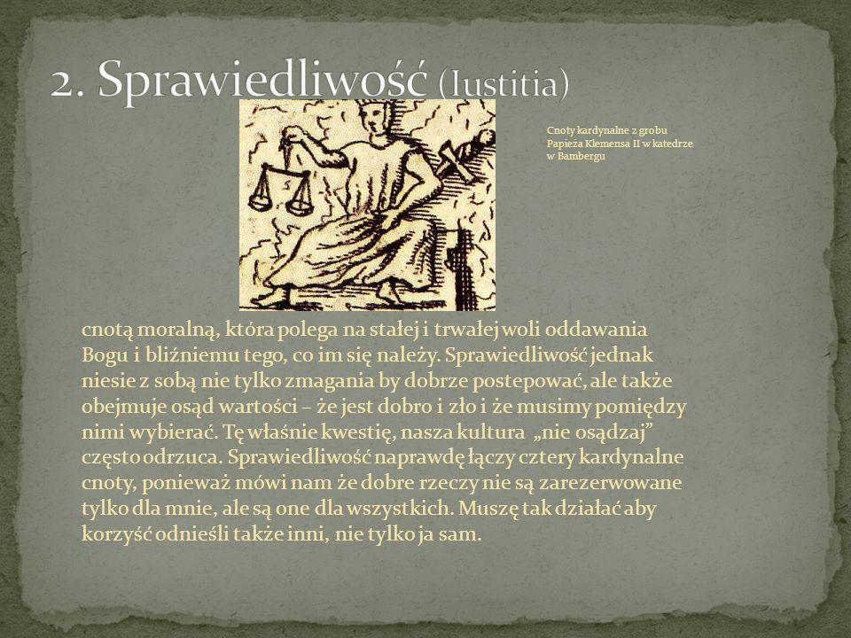 2. Sprawiedliwość (Iustitia)