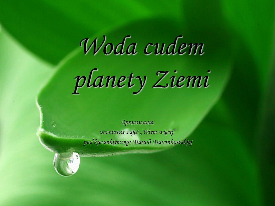 Woda cudem planety Ziemi