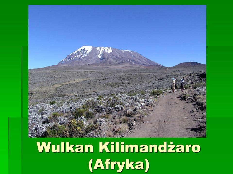 Wulkan Kilimandżaro (Afryka)