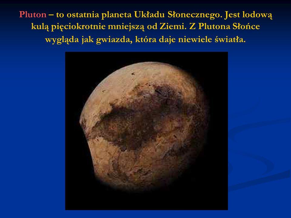 Pluton – to ostatnia planeta Układu Słonecznego