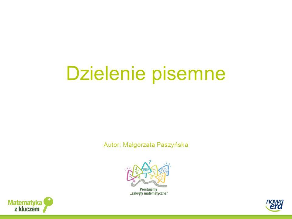 Autor: Małgorzata Paszyńska
