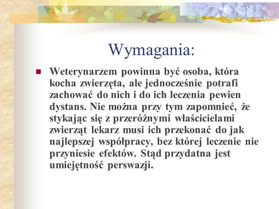 Wymagania:
