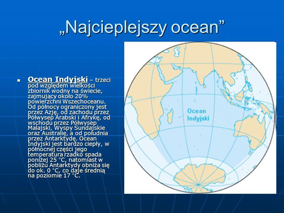 """""""Najcieplejszy ocean"""