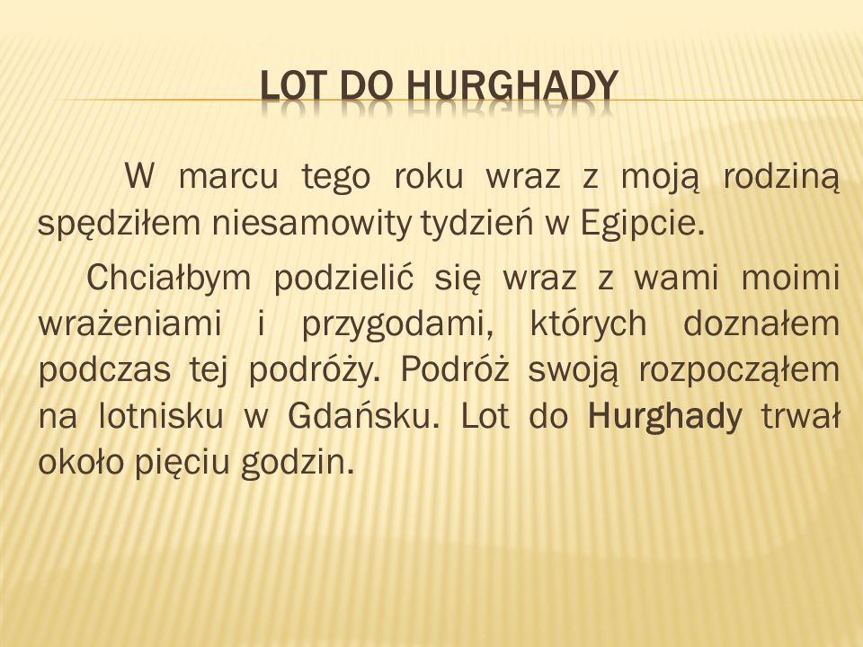 LOT DO HURGhADY