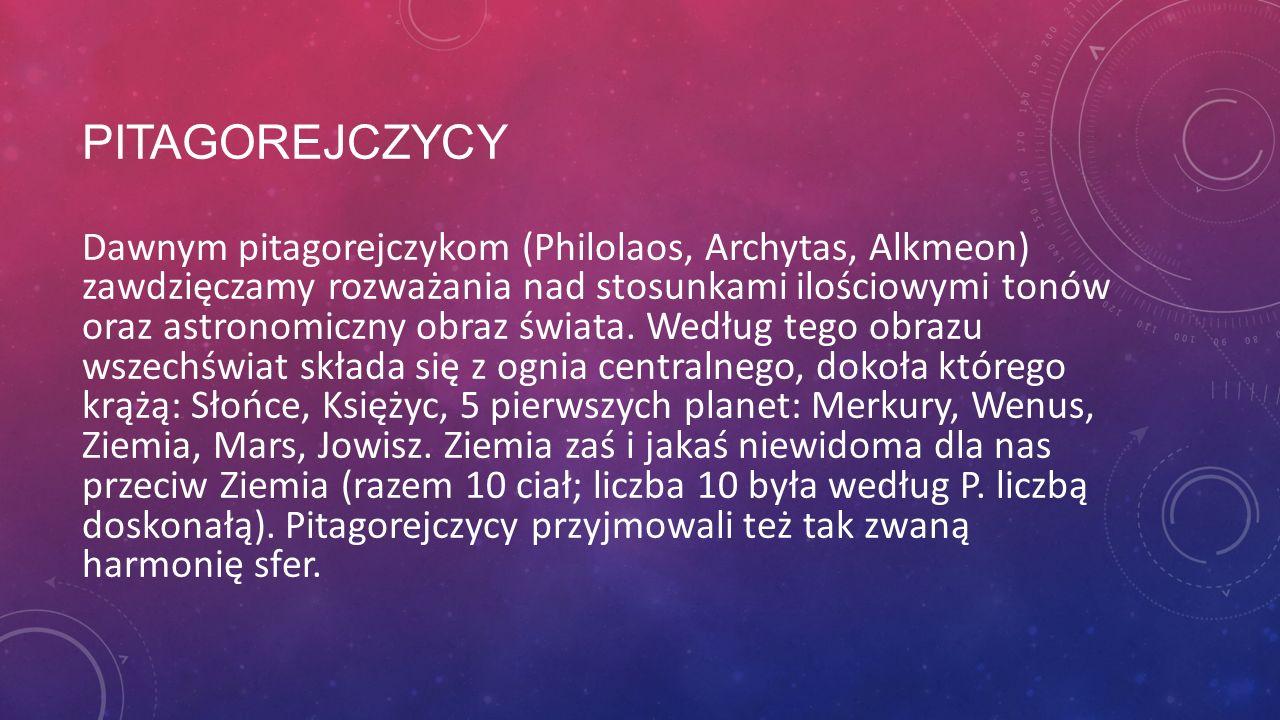 Pitagorejczycy