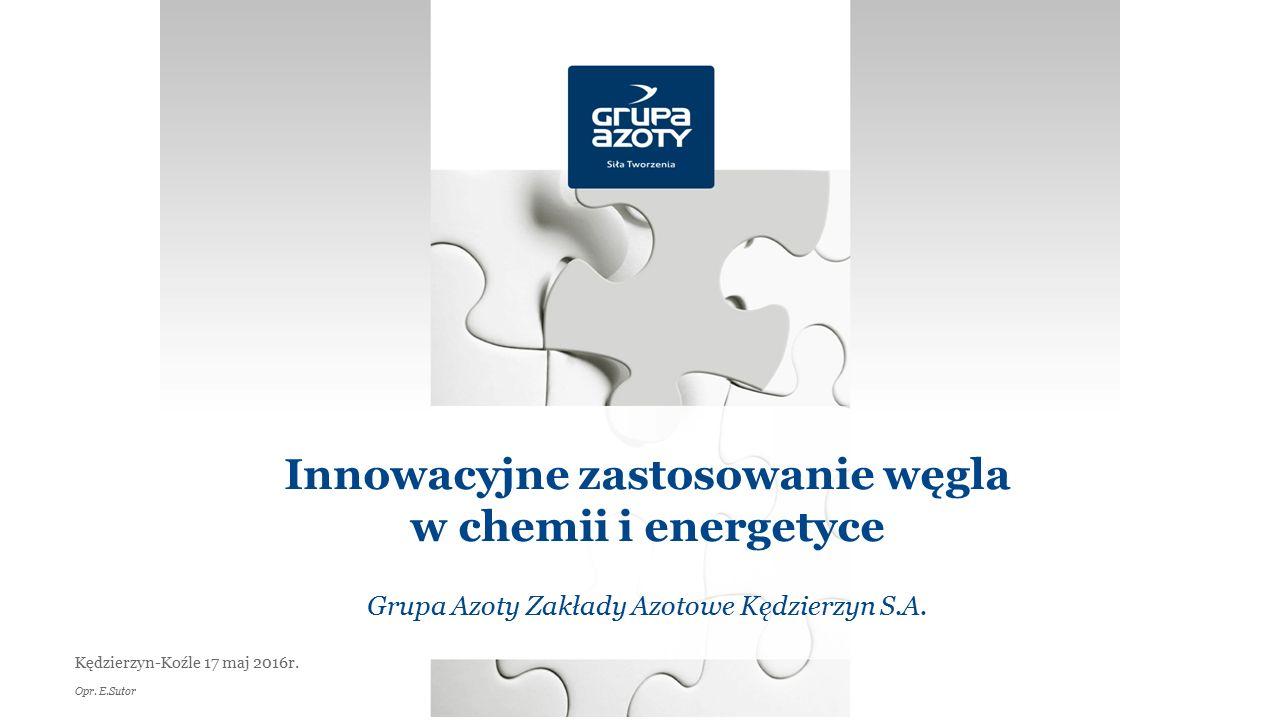 Innowacyjne zastosowanie węgla w chemii i energetyce