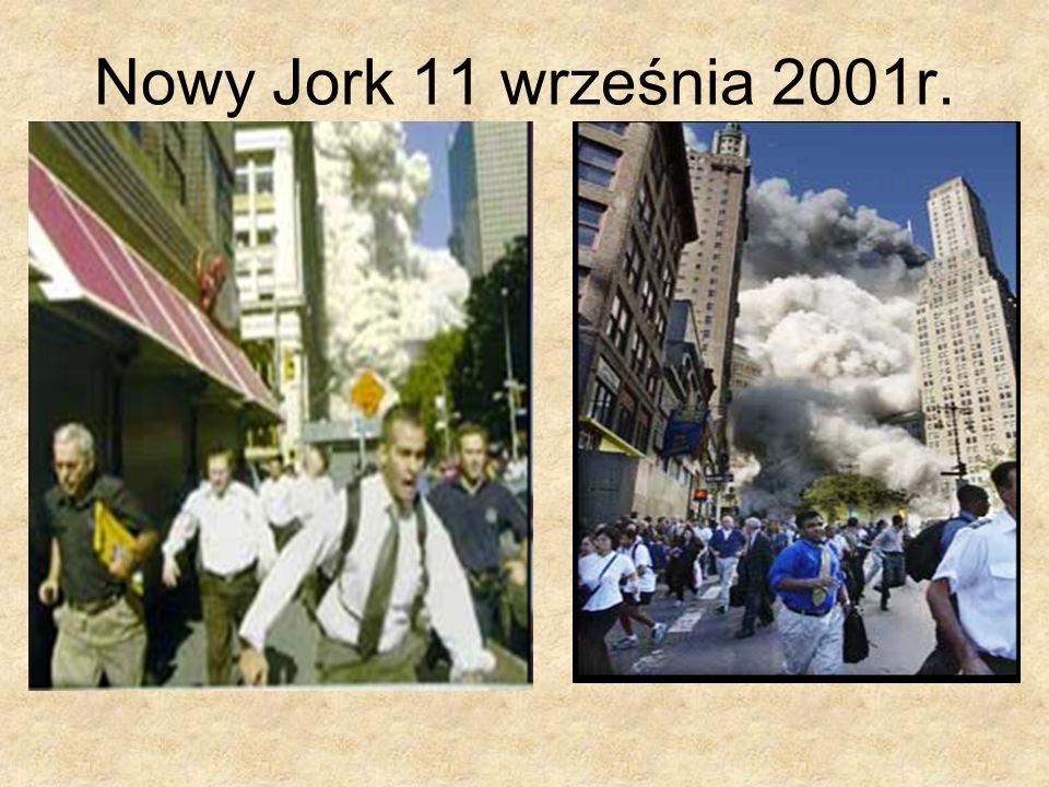 Nowy Jork 11 września 2001r.