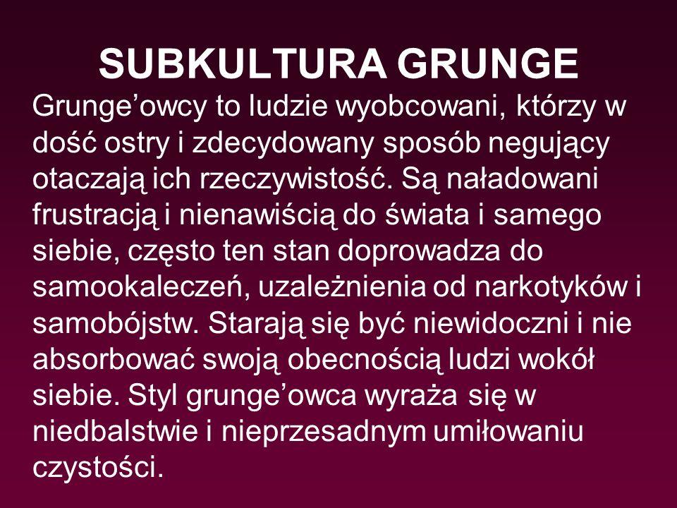 SUBKULTURA GRUNGE