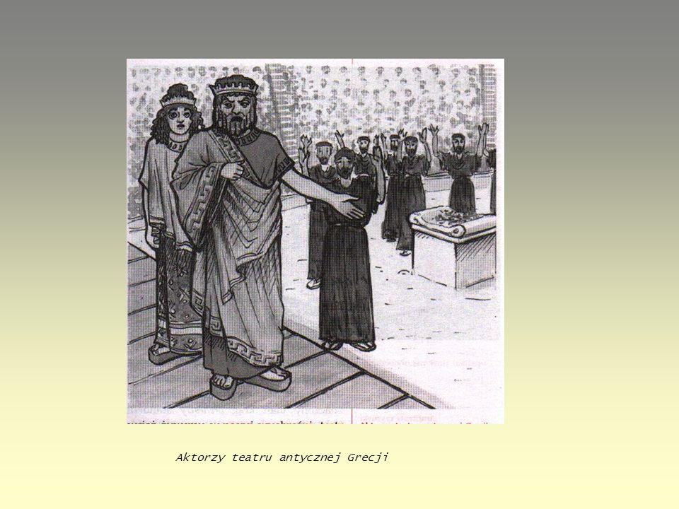 Aktorzy teatru antycznej Grecji