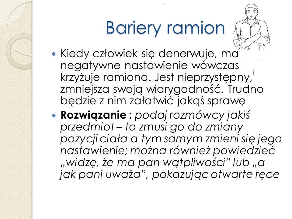 Bariery ramion