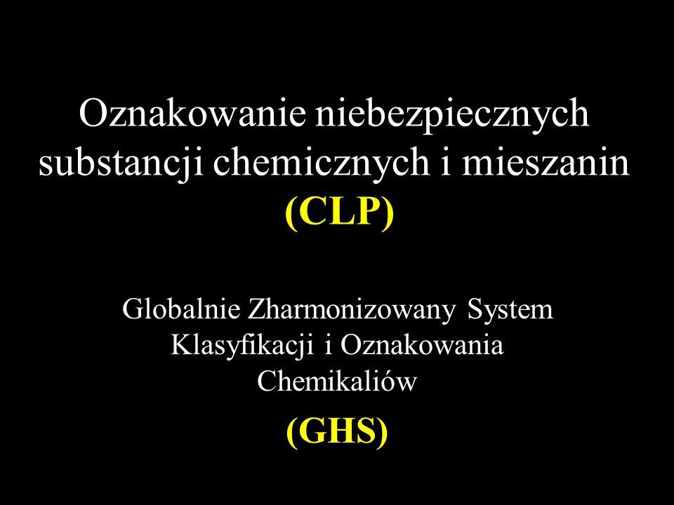 Oznakowanie niebezpiecznych substancji chemicznych i mieszanin (CLP)