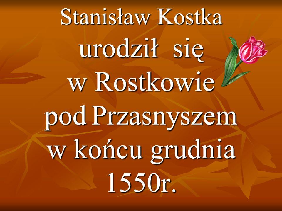 urodził się w Rostkowie pod Przasnyszem w końcu grudnia 1550r.