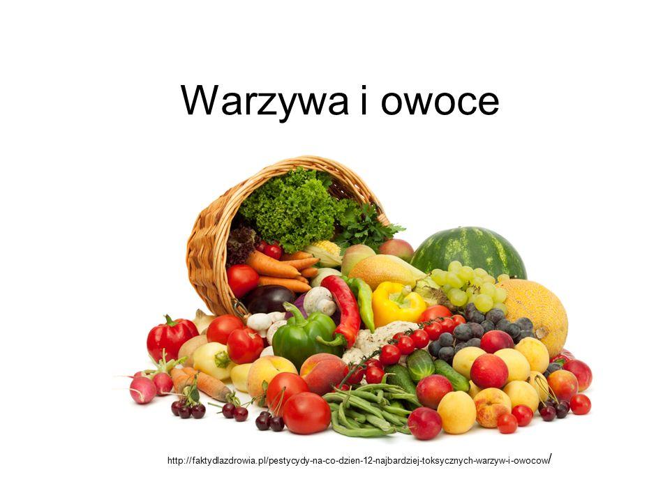 Warzywa i owoce http://faktydlazdrowia.pl/pestycydy-na-co-dzien-12-najbardziej-toksycznych-warzyw-i-owocow/