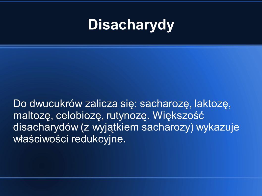 Disacharydy
