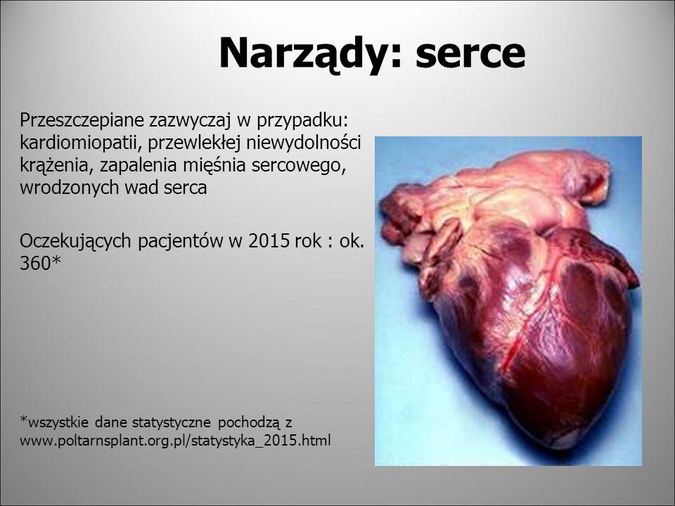 Narządy: serce