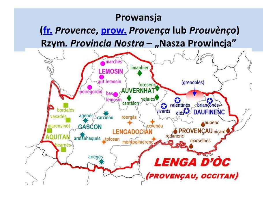 Prowansja (fr. Provence, prow. Provença lub Prouvènço) Rzym