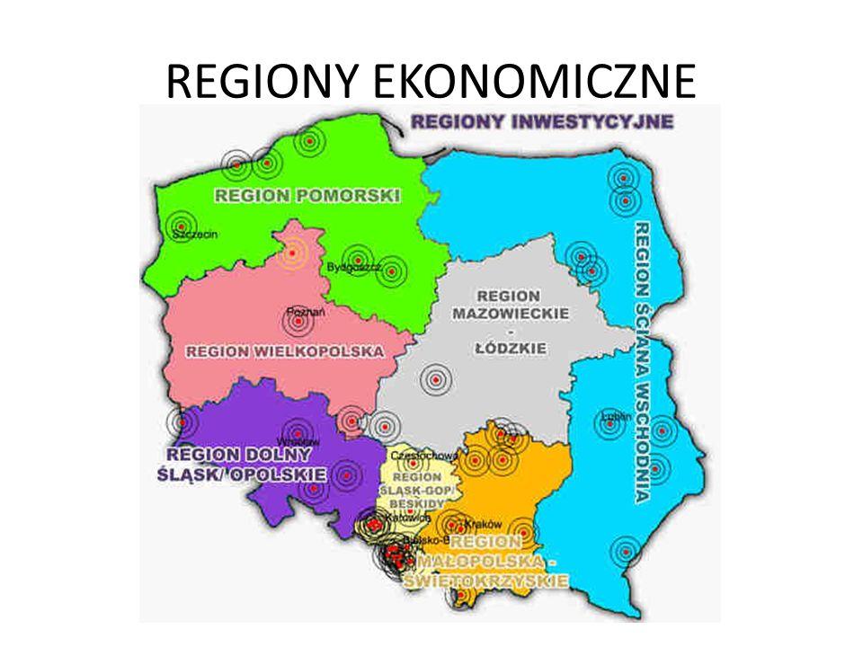 REGIONY EKONOMICZNE