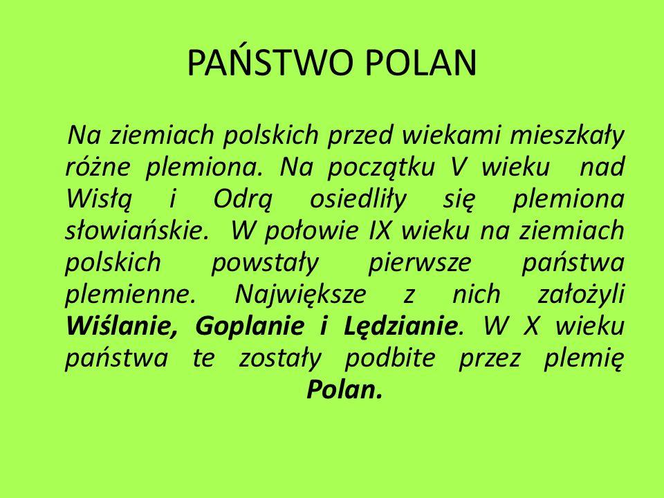 PAŃSTWO POLAN