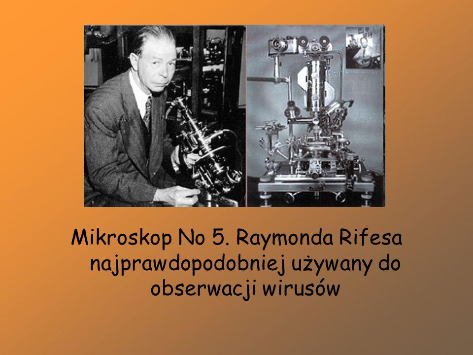 Mikroskop No 5. Raymonda Rifesa najprawdopodobniej używany do obserwacji wirusów