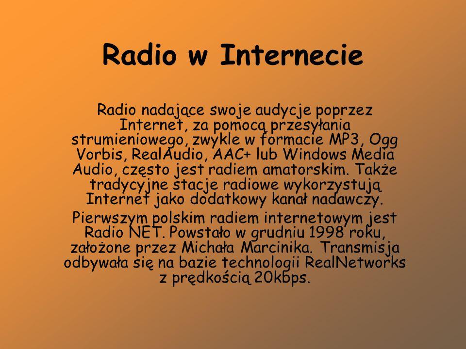 Radio w Internecie