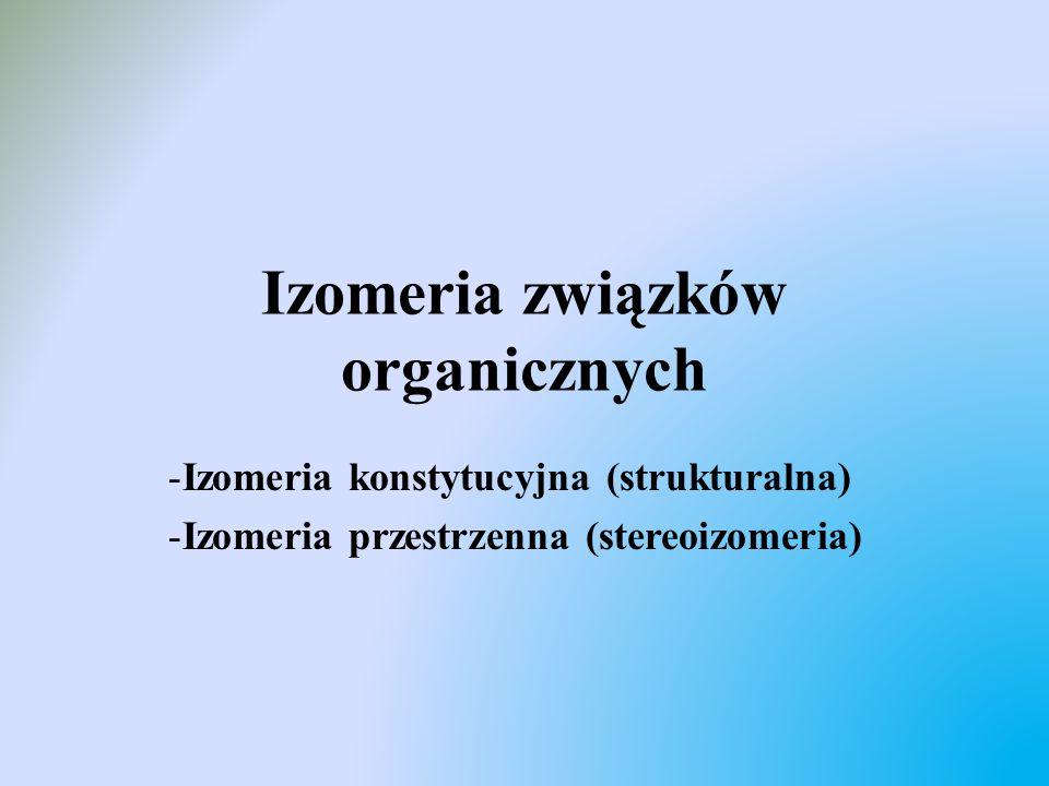 Izomeria związków organicznych