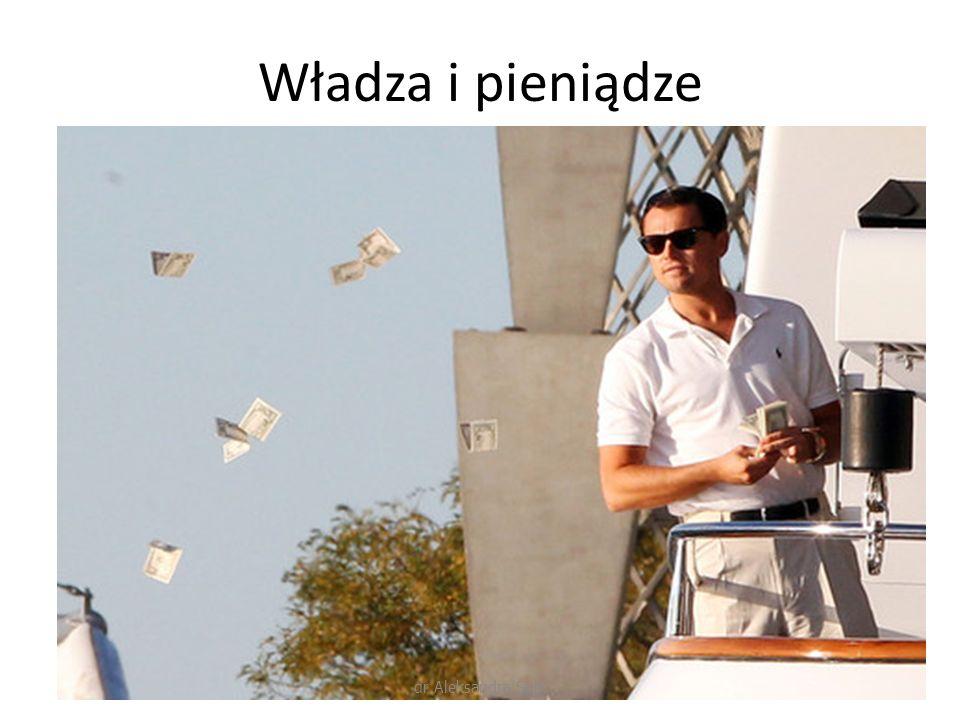 Władza i pieniądze dr Aleksandra Spik