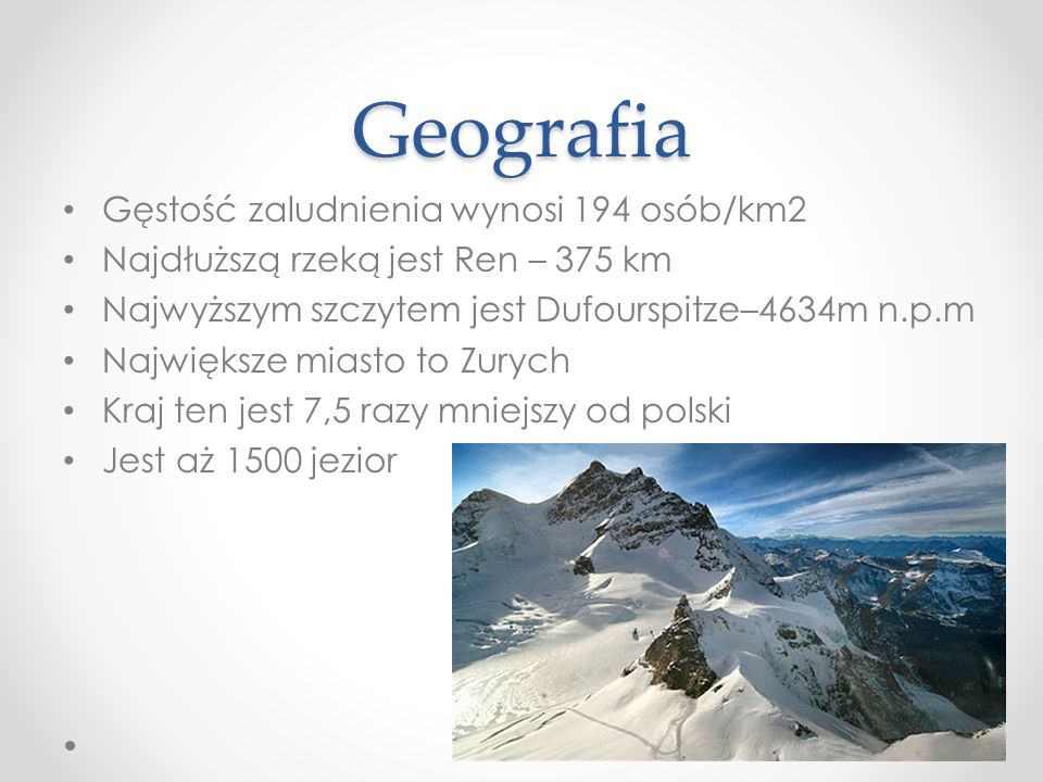Geografia Gęstość zaludnienia wynosi 194 osób/km2