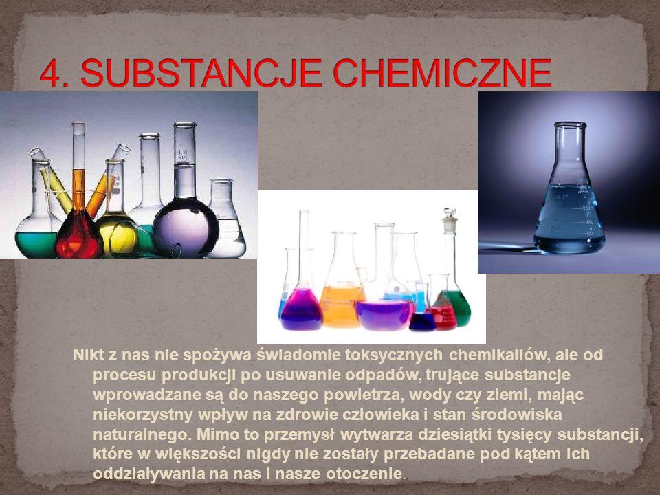 4. SUBSTANCJE CHEMICZNE