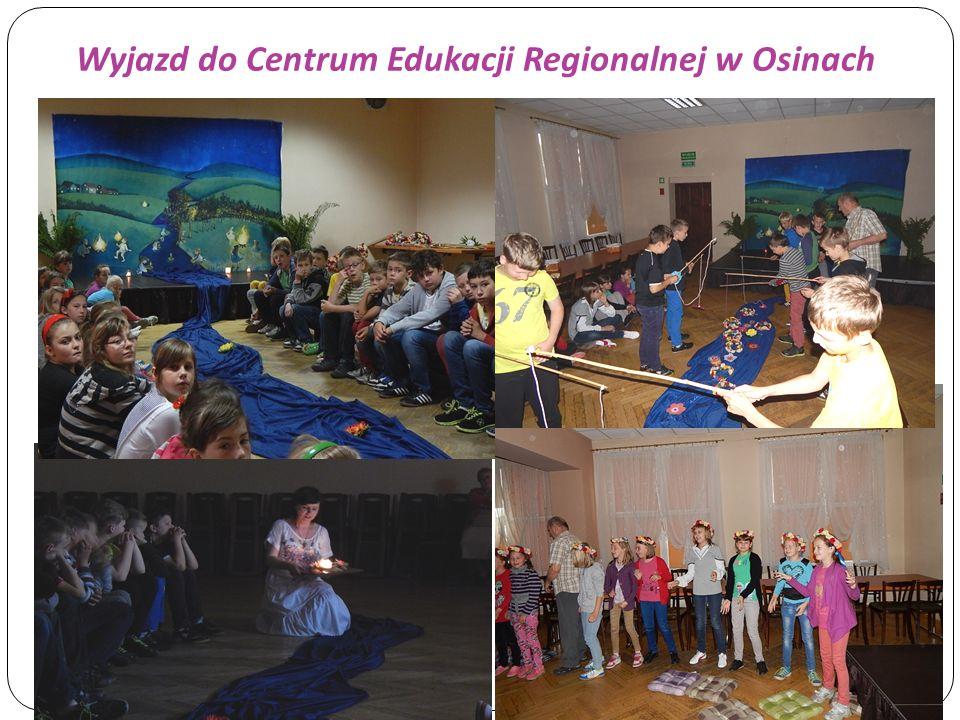 Wyjazd do Centrum Edukacji Regionalnej w Osinach