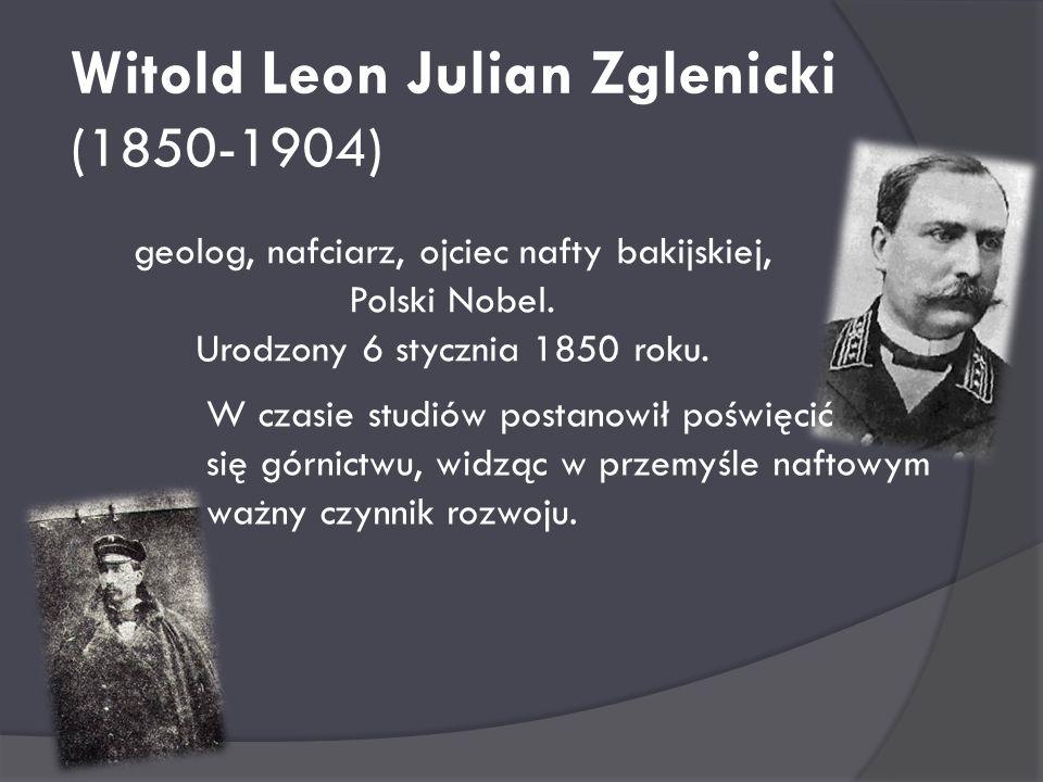 Witold Leon Julian Zglenicki (1850-1904)