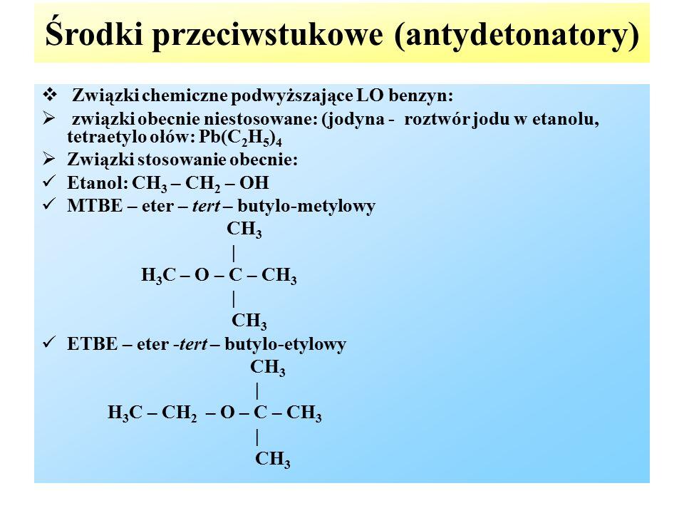 Środki przeciwstukowe (antydetonatory)