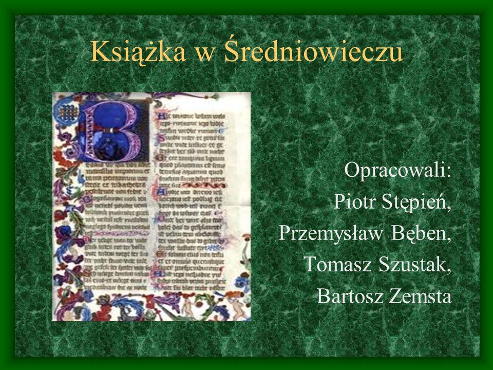 Książka w Średniowieczu