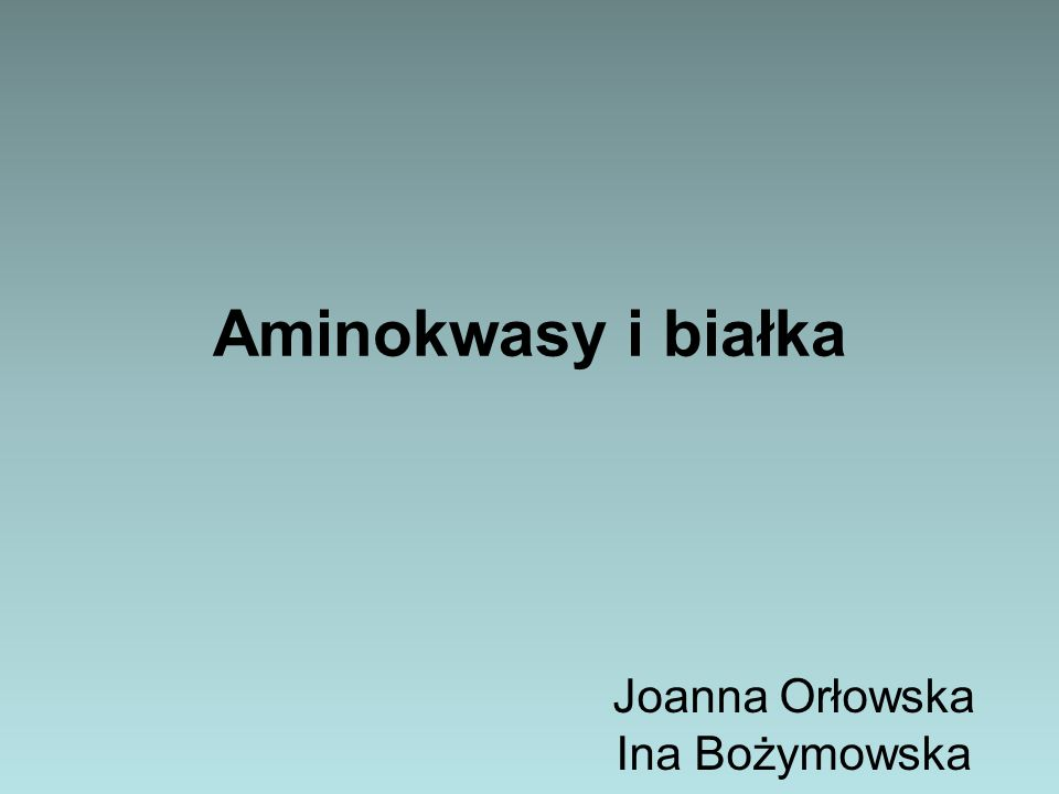 Joanna Orłowska Ina Bożymowska