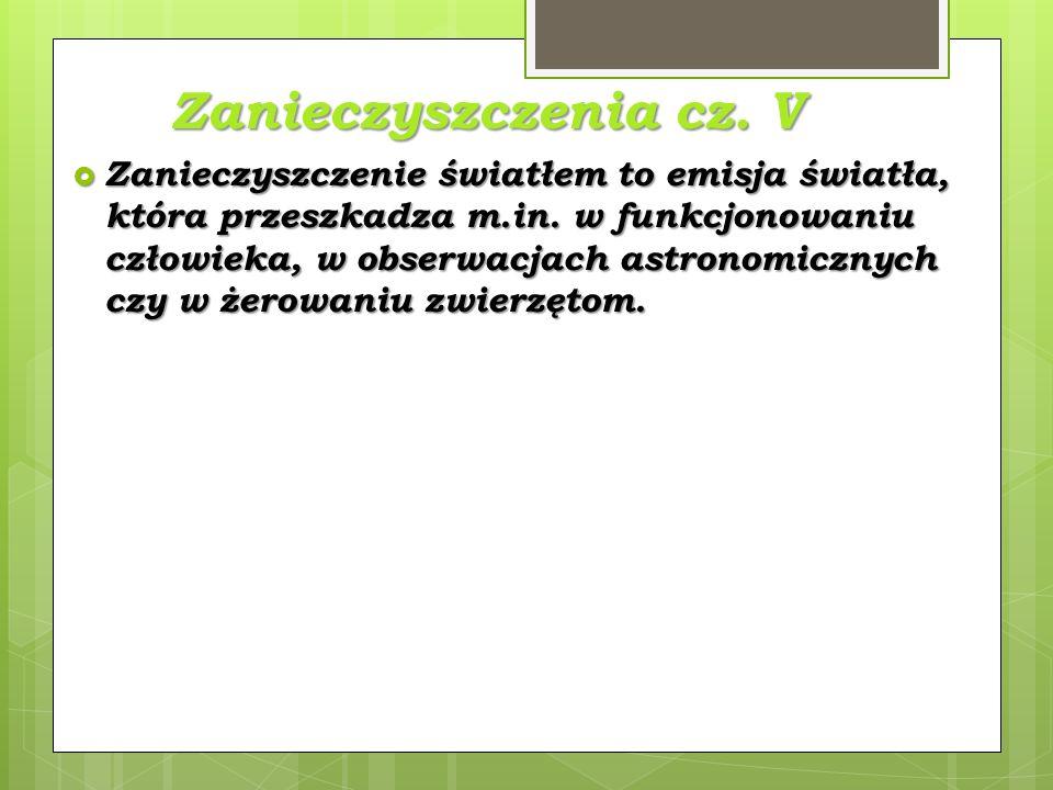 Zanieczyszczenia cz. V