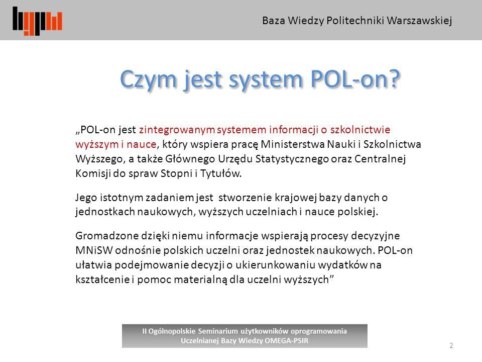 Czym jest system POL-on