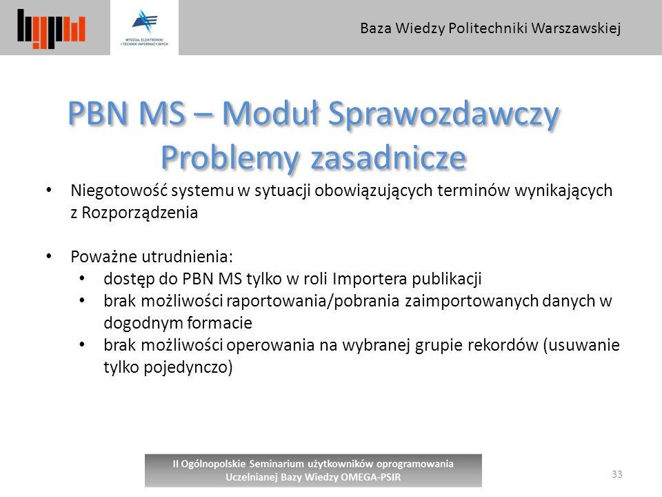 PBN MS – Moduł Sprawozdawczy