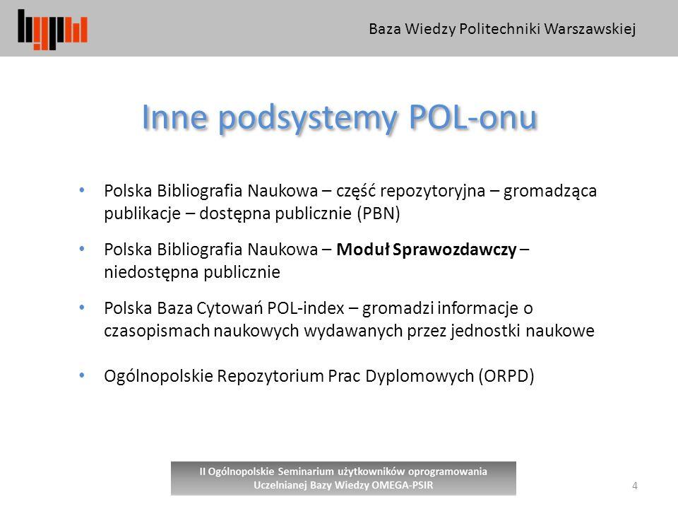 Inne podsystemy POL-onu
