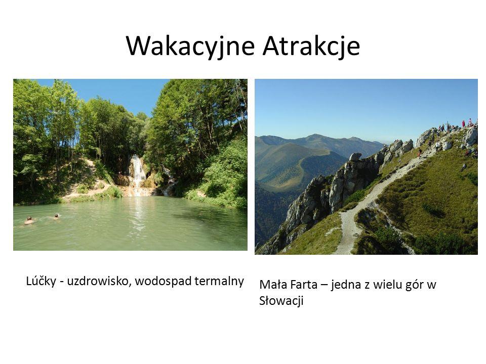 Wakacyjne Atrakcje Lúčky - uzdrowisko, wodospad termalny