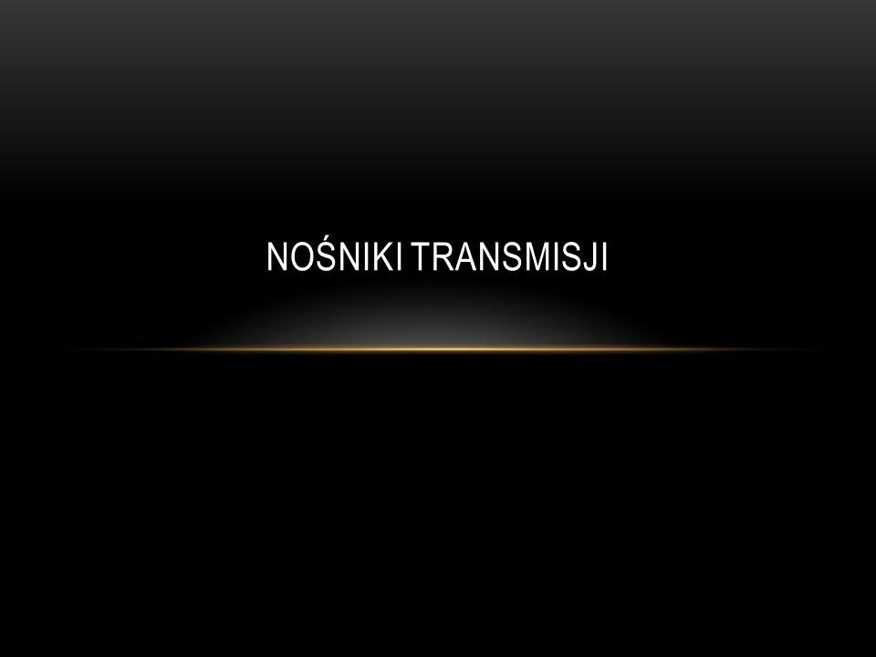 Nośniki transmisji