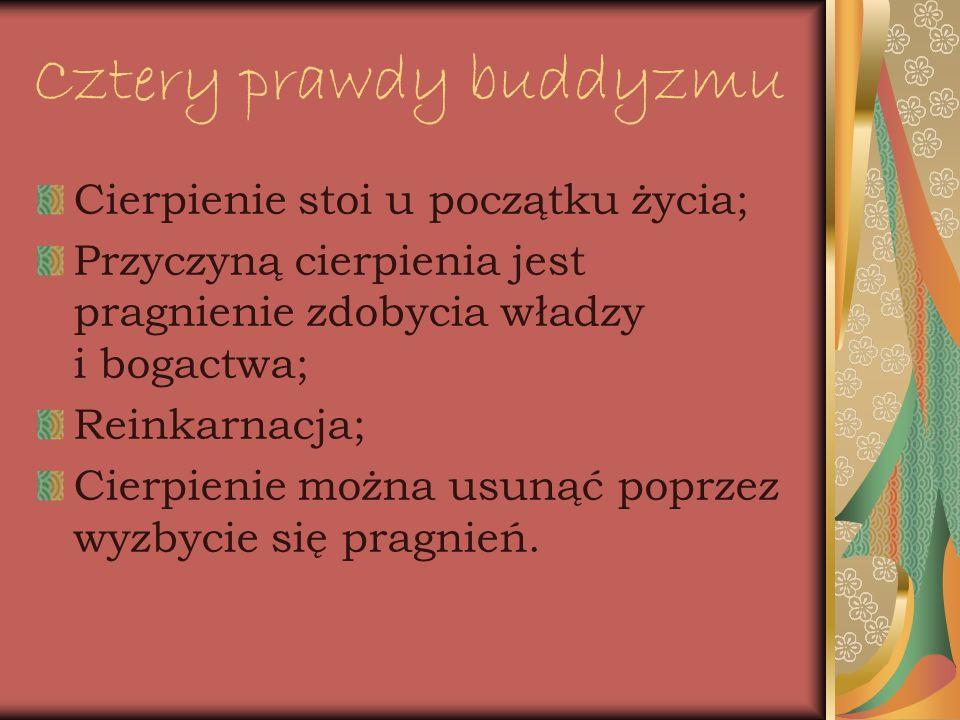 Cztery prawdy buddyzmu