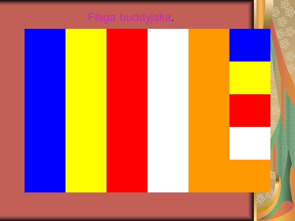 Flaga buddyjska.