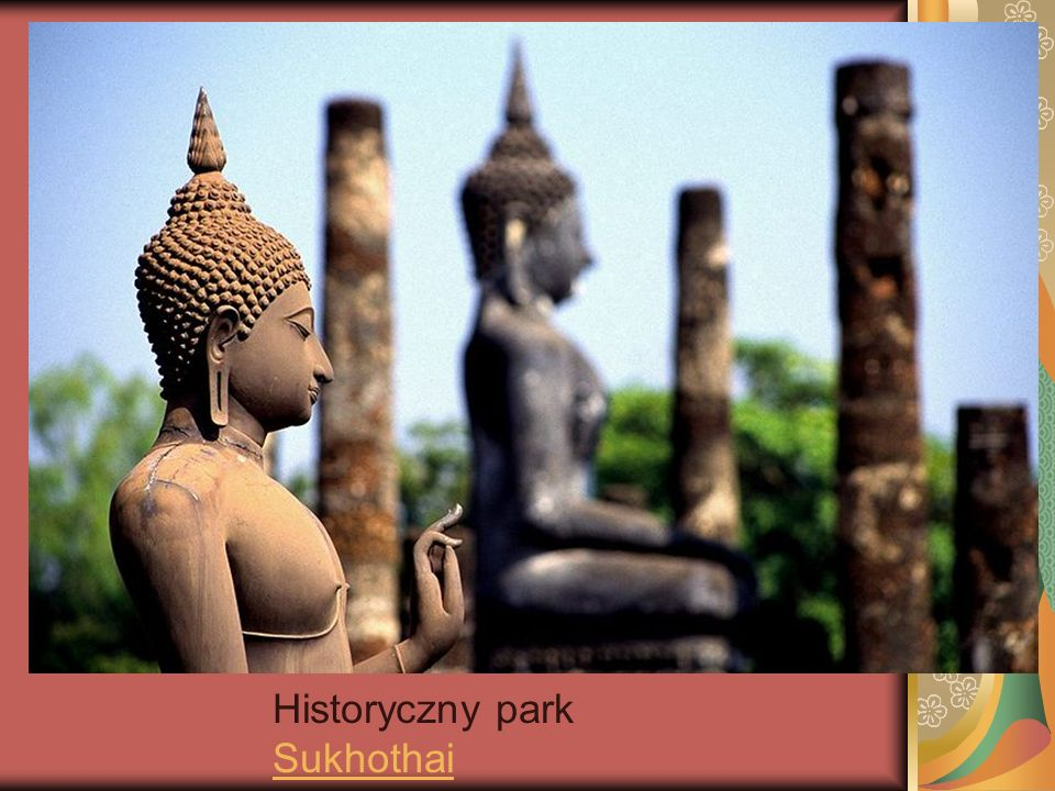 Historyczny park Sukhothai